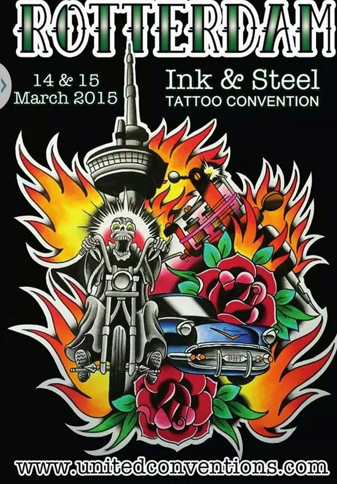 Attending The Rotterdam Tattoo Convention 2015